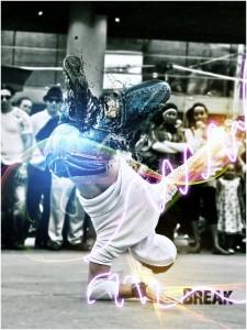 The dancing man