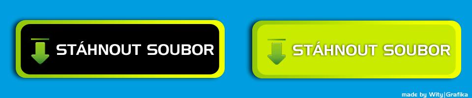 Webdesign tlačítka na web ( download , stáhnout soubor)
